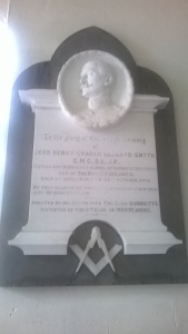 Youghal Masonic Plaque