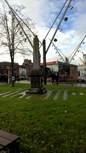 Great War Memorial on South Mall, Cork